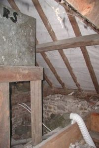 Bathroom extractor fans ducting into roof will cause condensation and timber decay